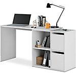 Mesa despacho Adapta multiposición blanco artico