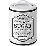 Bote con asa IBILI White Sugar blanco 11 x 16 cm