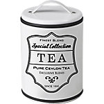 Bote con asa IBILI White Tea blanco 11 x 16 cm