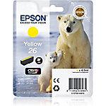 Cartucho de tinta Epson original C13T26144022 amarillo