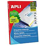 Etiqueta multifunción APLI 01281 A4 blanco 210 x 297 mm 100 hojas de 1 etiqueta