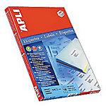 Etiqueta multifunción APLI 01288 blanco 97 x 42,4 mm 100 hojas de 12 etiquetas
