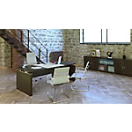 Mesa de dirección 180 x 90 x 74 cm nogal