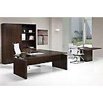 Mesa de dirección 200 x 90 x 74 cm wengue
