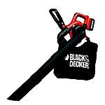 Soplador aspirador triturador a bateria 36V 2.0Ah capacidad de la bolsa 17L con doble tubo BLACK&DECKER GWC3600L20 QW