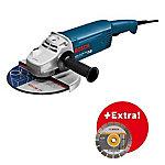 Bosch 0615990DD6 Amoladora GWS 22 230 JH Professional 2200W 230mm Empuñadura recta Arranque suave Protección contra rearranque BOSCH 0615990DD6