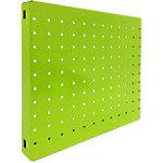 Panel perforado Simonrack magnetico pared verde 300 x 300 mm