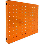 Panel perforado Simonrack magnetico pared naranja 300 x 300 mm