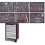 Carro 3908 con 309 herramientas COMPLETO EVA KRAFTWERK 3908 4917