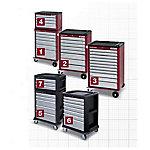 Armario 2905 con 150 herramientas COMPLETO KRAFTWERK 2905 4909