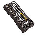 Set 23 piezas de mecanica metrica media pulgada 12 puntas STANLEY STMT1 74726