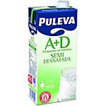 Leche PULEVA Semi desnatada A+D 1 l