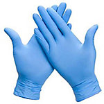 Guantes desechables de nitrilo SANiTEC talla azul 100 unidades
