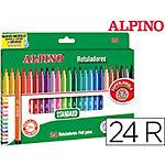 Rotulador Alpino surtido 24 unidades