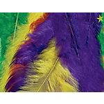 Plumas de pavo Liderpapel colores surtidos