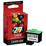 Cartucho de tinta Lexmark original 27 3 colores 10nx227e