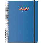 Agenda Dohe Syncro 1 día por página 2020 azul