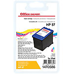 Cartucho de tinta Office Depot compatible hp 57 3 colores c6657a