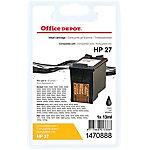 Cartucho de tinta Office Depot compatible hp 27 negro c8727a