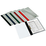 Dossier con fastener Grafoplás con lomo recto A4 negro pvc