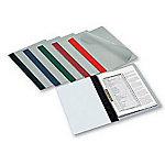 Dossier con fastener Grafoplás con lomo recto Folio azul pvc