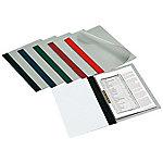 Dossier con fastener Grafoplás con lomo recto Folio negro pvc