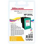 Cartucho de tinta Office Depot compatible hp 351xl 3 colores cb338ee