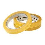 Cinta adhesiva Office Depot resistente y adherente polipropileno 12 mm x 66 m amarillento 12 rollos