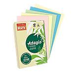 Papel de colores Rey Adagio A4 80 g