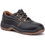 Zapatos de seguridad Style nivel S1P piel, poliuretano talla 45 negro
