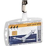 Identificador DURABLE con clip 8005 19 85 x 54 mm 25 unidades