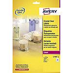 Etiqueta multifunción AVERY Zweckform Transparente 525 etiquetas por paquete
