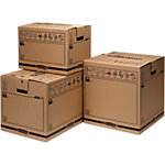 Caja de transporte grande Montaje automático marrón 406 (A) x 457 (P) x 457 (H) mm 5 unidades