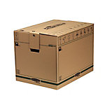Caja de transporte extra grande Montaje automático marrón 457 (a) x 457 (p) x 609 (h) mm 5 unidades