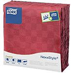 Servilleta para cena Tork NexxStyle 2 capas burdeos 50 unidades