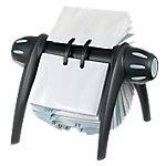 Tarjetero rotativo DURABLE Visifix Flip negro Formato Especial 400 Tarjetas 21,5 x 18,5 x 12 cm