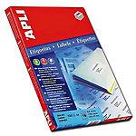 Etiqueta adhesiva APLI 02418 blanco 99,1 x 34 mm 100 hojas de 16 etiquetas