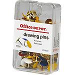 Chincheta Office Depot colores surtidos 100 unidades