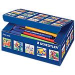 Rotulador de color STAEDTLER Noris Club 326 punta de fibra colores surtidos 100 unidades