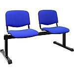 Bancada de espera Montiel 2 puestos sin brazos azul