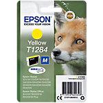 Cartucho de tinta Epson original t1284 amarillo c13t12844012