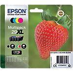 Cartucho de tinta Epson original 29xl negro, magenta, cián, amarillo c13t29964012 4 unidades