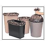 Bolsa de basura Dahi 50 l negro 55 cm 10 unidades