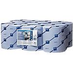 Toallita secamanos Tork Reflex 2 capas sin pliegue azul 6 rollos