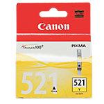 Cartucho de tinta Canon Original CLI 521Y Amarillo