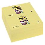 Notas amarillas Post it 127 x 76 mm amarillo 12 unidades de 90 hojas