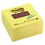 Notas adhesivas en cubo Post it 76 x 76 mm amarillo 350 hojas