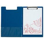Portabloc con tapa Office Depot A4 azul 23,5 x 34 cm pvc
