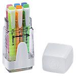 Marcador fluorescente STABILO Swing Cool punta biselada colores surtidos 6 unidades