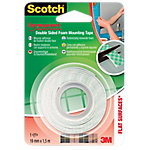 Cinta adhesiva de doble cara Scotch Doble cara 19 mm x 1,5 m verde